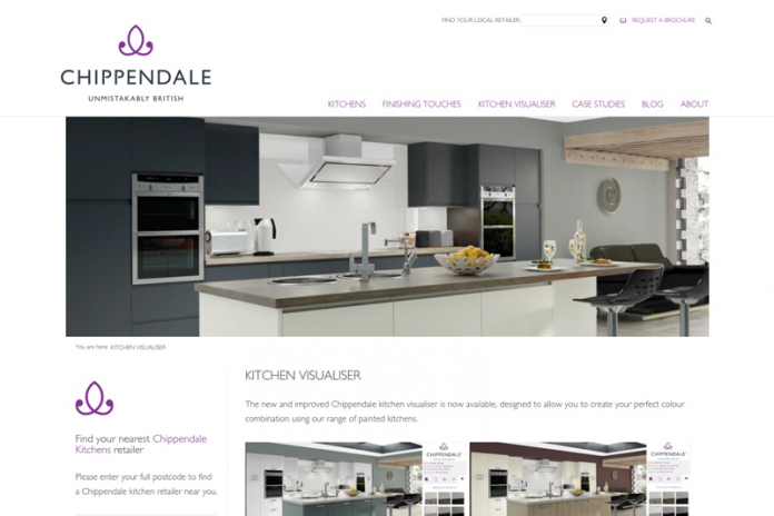 Chippendale kitchen planner