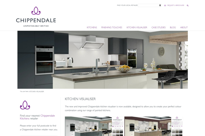 Uk Manufacturer Launches Online Kitchen Planner The
