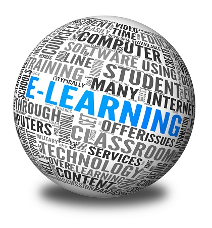 Training online with e-learning for retail companies