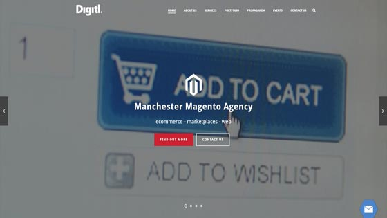 Digitl Magento developers Manchester