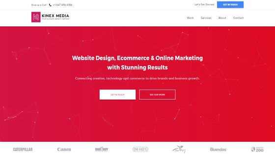 Kinex Media Business Web Design