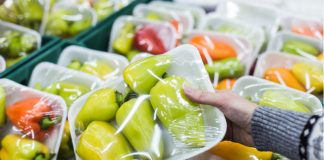 Use of plastic packaging in supermarkets