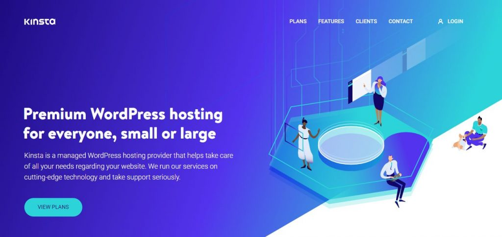WordPress and WooCommerce hosting from Kinsta